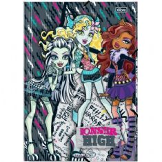 Foto PASTA DE PAPELÃO MONSTER HIGH